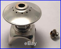 Old Pair Of Sterling Silver 950 Japan Pagoda Shaped Salt & Pepper Shakers