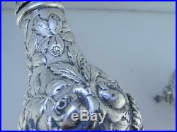 Old Sterling S KIRK & SON CO Salt & Pepper Shakers REPOUSSE 925/1000
