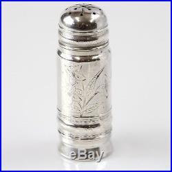 Pair Of Gorham Sterling Silver Salt & Pepper Shakers Rhode Island 1881