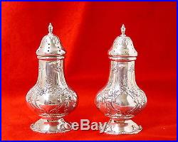 Pair Of Reed And Barton Francis I Sterling Silver Salt & Pepper Shakers