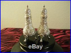 Pair of S. Kirk & Son SALT & PEPPER shakers very nice