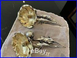 Poppy by Buccellati Sterling Silver Salt and Pepper Shakers Two-Piece Set