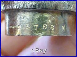 RARE 1873 TIFFANY & Co Novelty Figural OWL Sterling Silver Salt & Pepper Shaker
