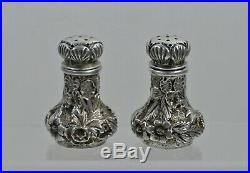 Ritter & Sullivan Baltimore Sterling Silver Salt & Pepper Shakers