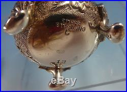 Rose by Stieff Sterling Silver Salt and Pepper Shakers 2pc #12 (#1308)