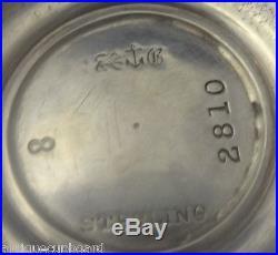 Saint Cloud by Gorham Sterling Silver Salt & Pepper Shakers 2pc (#0225)