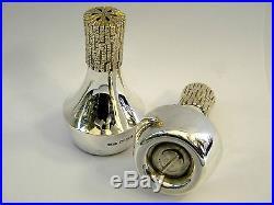 Silver Christopher Lawrence Salt & Pepper Shakers London 1982
