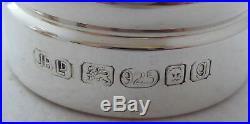 Solid Hallmarked Silver Cruet Set Salt and Pepper Grinders Mills Mint Condition