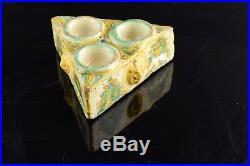 Spices box. Polychromed series ceramic. Talavera/Puente del Arzobispo, Spain