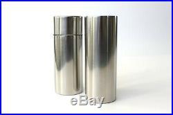 Stelton Cylinda Line Large Salt Pepper Grinder Shaker Arne Jacobsen Danish MCM