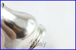 Sterling Silver Blue Enameled Mushroom Top Salt And Pepper Shaker Set Norway
