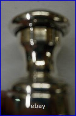 Sterling Silver Pepper Grinder & Salt Cellar 101.9g Good Condition