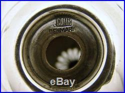 Sterling Silver Salt & Pepper Shaker Mid Century Modern Marked Cohr Denmark