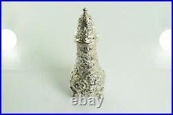 Stieff Rose #12 Salt / Pepper Shaker in Sterling Silver
