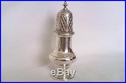 Stunning Solid Silver Georgian Style Sugar Castor/Shaker C. J. Vander Ltd 1976