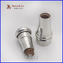 Tiffany And Co Salt Shaker Pepper Grinder Combination Sterling Silver