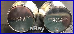 Tiffany & Co France Silver Salt and Pepper Shakers