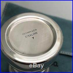 Tiffany & Co Stelring Silver Antique Salt and Pepper Grinder Shaker Set