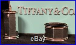 Tiffany&Co Sterling Salt Cellar Pepper Shaker Made in Birmingham UK