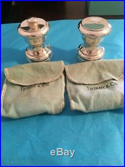Tiffany & Co Sterling Silver 925 Salt And Pepper Shaker Set VINTAGE