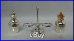 Tiffany & Co. Sterling Silver Salt & Pepper Shaker Set