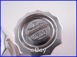 Tiffany Sterling Silver Pair Swirl Salt & Pepper Temple Shakers