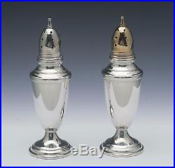 Towle Salt & Pepper Shaker Pair Sterling Silver