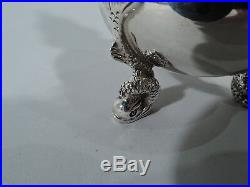 Tuttle Salts & Peppers 55 Antique Neoclassical American Sterling Silver