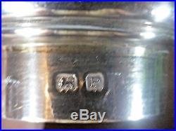 VGC Hallmarked 1939 HEAVY solid SILVER SUGAR CASTER/SHAKER 150gms