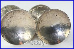 Vintage 1970's Old Pawn Sterling Silver Salt & Pepper Shakers