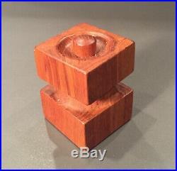Vintage Dansk Salt & Pepper MILL & Shaker #5 Teak Wood MID Century Modern