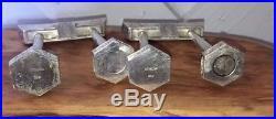Vintage Japanese Sterling Silver Shinto Gates Salt & Pepper Shakers Set