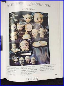 Vintage Lefton Miss Priss Kitty Cat Teapot, Salt Pepper Shakers, Creamer, BOOK