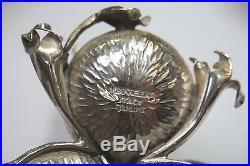 Vintage M Buccellati Sterling Silver Mushroom Sal&Pepper Shakers, Signed, c1960s
