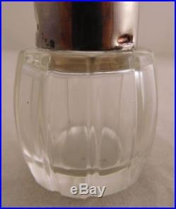 Vintage Meka Sterling Silver Guilloche Enamel Denmark Salt & Pepper Shaker Set
