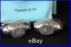 Vintage Sterling Silver Tiffany Salt & Pepper Shakers $200