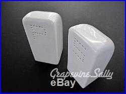 Vintage Stove Parts Vintage Stove Top Heavy Ceramic Salt & Pepper Shakers