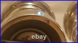 Vintage Tiffany & Co. Sterling Capstan Salt Shaker and Pepper Grinder