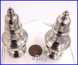 Vintage Tiffany & Co. Sterling Silver Salt & Pepper Shakers 61.2grams