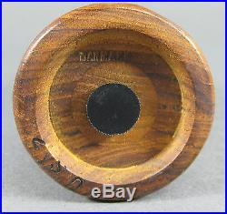 Vtg Mid Century Dansk Rosewood Salt Shaker Jens Quistgaard Denmark Eames Era