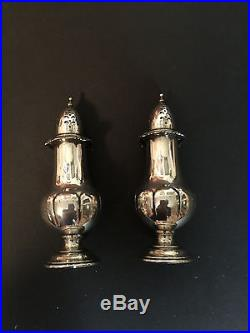 Wallace Sterling Grande Baroque Salt and Pepper Shakers